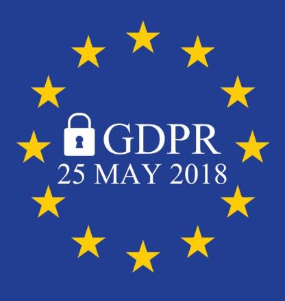 Gdpr entrato in vigore il 25 maggio 2018